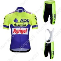 Rennsets ADR Agrigel Bottecchia 1989 Radfahren Jersey Set Retro Kleidung Rennrad Anzug Fahrrad Shorts Shirt MTB MAILLT CULOTETE