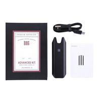 Top Quality Big Stiizy Kit Avançado Vape Caneta 550mAh Bateria Recarregável Starter Kit para vaporizador Thich Cartucho de Óleo Flat Vo Vs Novo 2