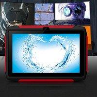 Sıcak Q98 Android 9.0 Dört Çekirdekli Çocuk Tablet 7 inç 1 + 16g WiFi Öğrenme Makinesi 1.5 GHz Çoklu Dil Tabbeblet PC Çevrimiçi sınıf için