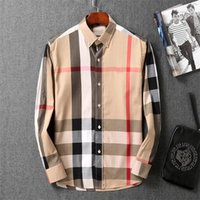 2021 Suit design de luxe costume Mode Casual Shirt Marque Printemps et Automne Slim Le plus en vogue Vêtements # 45