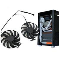 Laptop-Kühlkörper 95mm T129215SU 12V 0.50AMP Grafikkarten-Kühler-Fans für Asus ROG Strix-GeForce RTX 3060 3070 Fan