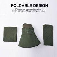 Outdoor Hats Sunshade Hat Cooling Cap Apparel Sun Visors Cotton 4 Color Fisherman