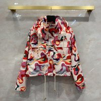 Women's Jackets 2021 Spring Designer High Quality Print Fashion Coat For Women B062