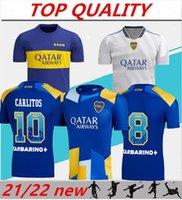 2021 2022 Boca Juniors Soccer Jersey Home Away 21/22 Gago Osvaldo Perez de Rossi Tevez Carlitos Maradona Football Shirts