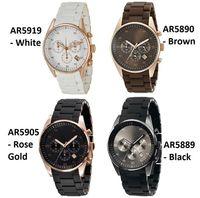 2021 высочайшее качество мужчин часы AR5905 AR5906 AR5919 AR5920 Классические женские наручные часы мужчины смотрят оригинальную коробку с сертификатом