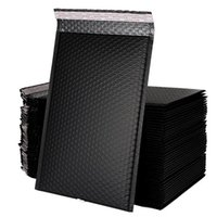 Black Bubble Cushioning Wrap Mailer Matte envelope bag mailers packaging bags for business Lined Poly Self Seal