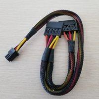 6Pin to Splitter 15Pin SATA Power Cable cable para Dell Vostro 3650 3653 3655 computadora de escritorio HDD SSD Expansion 50cm