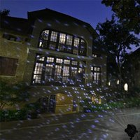 Effects Outdoor Garden Laser Projector Moving Snow Lamps Snowfall Lighting For Christmas Party Decor CF240