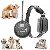 O assento do carro do cão cobre o tipo eletrônico da cerca do animal de estimação Treinamento sem fio do animal de estimação Barking Collar Control distância Som / Suprimentos