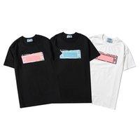 2021 Erkek Stylist T Gömlek Erkekler S Giyim 3D Yaz Tshirt Hip-Hop Bayan Kısa Kollu Lüks Tasarımcı Giysi Lady Rahat Tees