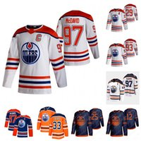 Connor McDavid Edmonton Öler 2021 Retro Retro Jersey Duncan Keith Colby Cave Leon Draisaitl Ryan Nugent-Hopkins Gretzky Krankenschwester Kassian Barrie