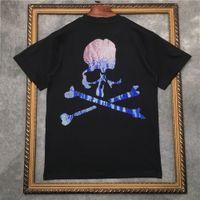 2021 New Barrett Camiseta Masculina de Manga Curta com Strass Crnio E Camisetas Femininas | Streetwear 2191001659 SJ4M.
