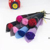 2021 قرنفز صابون زهرة واحدة محاكاة روز باقة عيد الأم هدية للأم الحدث الهدايا الصغيرة مختلف الألوان HWD7445