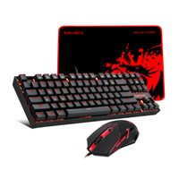 Redragon K552-BA Wired Gaming Keyboard Keyboard Mouse and Mouse Pad 3 en 1 Set Combo