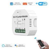 WiFi Smart Curtain Switch Module Roller Blinds Shutter Motor Smart Life Tuya APP Remote Control with Alexa Google Home