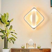 Duvar Lambası Mini Başucu için Mini LED Işıklar Masa Kenarı Galeri Yatak Odası Mutfak Çalışma Odası Kahve Bar Oturma Odası Kapalı Ev Aydınlatma Armatürleri