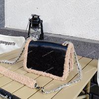 2021 Autumn Winter Messenger Bags Classic Mini Flap Square Calfskin Vintage Famous Luxury Designer Clutch Lovely Top Quality Crossbody Shoulder Totes Handbags 20C