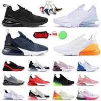 Nike Air Max 270 Airmax Erkek Tenis Koşu Ayakkabısı Siyah Lacivert Tamamen Beyaz Rust Pembe Mesh Kırmızı Yeşil Gri Nik Nk Airmax 270s Off White Spor Ayakkabı Erkek Bayan Outdoor