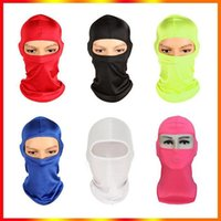 CS Outdoor Balaclavas Sports Neck Face Mask Ski Snowboard Wind Cap Poli Cycling Motorcycle Masks 12 Colors In stock Fast Delivery DHL