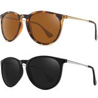 Gafas de sol polarizadas cuadradas para mujeres 2021 diseño de marca anti deslumbramiento conduciendo retro gafas de sol hombres UV400 Zonnebril Herén
