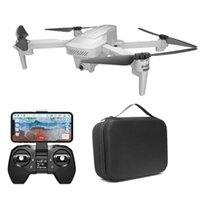 Drones Visuo XS818 Zen Mini GPS 5G WiFi FPV ile 4 K HD Elektronik Anti-Shake Kamera Optik Akış Konumlandırma RC Drone Quadcopter RTF
