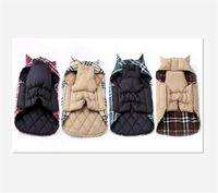 الأزياء منقوشة الشتاء الكلب معاطف الحيوانات الأليفة ملابس صغيرة الكلب تشيهواهوا في الهواء الطلق ماء كبير الكلب سترة 30 S2