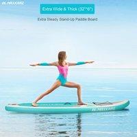 10.6ft Gonflable Stand Up Paddle Board Supboard de surf avec pompe de kit complet