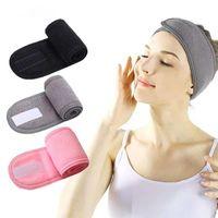 Shower Caps Face Wash Hair Band Female Yoga Headband Net Red Makeup Mask Beauty Salon Bag Turban