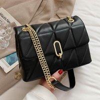 Evening Bags Green 2021 Fashion Shoulder Bag Women Leather Pu Quilted Female Luxury Handbags Designer Sac A Main Femme