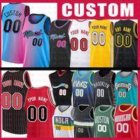 Custom Space Jam Tune Squad Basketball Jersey Brooklyn Nets Chicago Bulls Boston Celtics Toronto Raptors Los Angeles Lakers LA Clippers Rockets Miami Heat Bucks Hawks Grizzlies