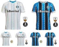 2021 Neues Gremio Gromel Herren Fussball Hemd Kanneman Luan Azewido Everton Home und Auswärts Jersey Club Camistas de fotpol Uniform