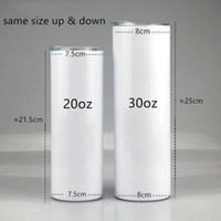 30oz Straight Sublimation cup Skinny Tumblers Slim tumbler W...