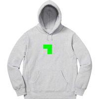 20FW 크로스 자수 디자이너 스웨터 남성 여성 까마귀 하이 스트리트 패션 점퍼 후드 옴므 옷 S-XL