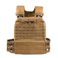 Tactical Molle Plate Carrier Vest regolabile Body Body Armor Combat Loading Nylon Vest Accessori Paintball Accessori
