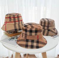 21SS Ведро Шляпа Широкие Breim Hats Мода Классический дизайнер Женщины Нейлон Осень Весна Рыбак Солнечные Шапки Drop Ship
