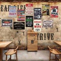 Sinais de estanho Campeão Cerveja Alimentos Edifício Vintage Arte Retro Tin Sinal Velho Parede Metal Pintura Arte Bar Bar Restaurante Decoração FWA4267