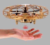 EMT MN2 4-Axis ufo لعبة الطائرات الحث، gsture استشعار الطائرة بدون طيار، أضواء ملونة، حماية شحن USB، كيد هدية عيد الميلاد عيد الميلاد، 2-2