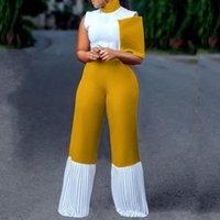 Roupa étnica Dashiki Jumpsuit Mulheres África África Vestidos Africano Pants Pants Design Bazin Lady Elegante Elegante Feminino Feminino Macacões