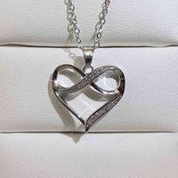 Aşk Kalp Kolye Trendy Klavikula Zincir Mizaç Asılı Boyun Takı