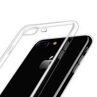 Cas de téléphone transparents pour iPhone 12 11 Mini Pro Max XS XR 8 7 Plus Samsung S20 TPU PROTECTION PROTECTABLE CAST COUVERTURE DROPSHIPPING