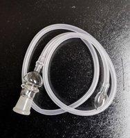 Прозрачный стеклянный испаритель с кнутом для замены диаметром 18 мм Снятор Snorter Vaporizer Шланг 39 дюймов Длинные трубы Части чище рта Советы Diegodd Shop