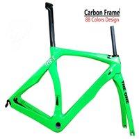 30 colores en stock Green RB1k El marco de bicicleta de carbono de una venta UD GLOSSY XXS / XS / S / M / L / XL