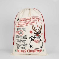 Çocuk Hediyeleri Noel Serisi Hediye Wrap Saklama Çantası Renkli Baskı Sevimli Karikatür Noel Ağacı Elk Elma Şeker Hediye Çantası