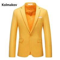 Men's Suits & Blazers 2021 Arrival Spring Fashion Casual Blazer Men,men's High Quality Jackets Size M-6XL