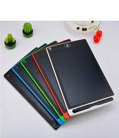 8.5 / 10 polegadas LCD escrita placa de desenho quadro-negro quadro-negro papel sem papel sem texto tablet computador bloco de notas caneta de upgrade para crianças