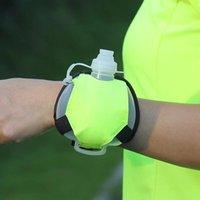 Tenis Mini Taşınabilir Bilek Su Şişesi Açık Koşu Spor Su Isıtıcısı Maratonu Sürme Spor Tırmanışı Özel Gece İçme Florores