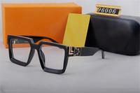 Milionários de luxo SU NGLASSES Mens Designer Sunglasses 96006 Marca óculos de sol moda óculos de sol polarizados para o verão de Mens Condução de vidro