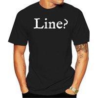 Men's T-Shirts 2021 Fashion Men T Shirt What S My Line Funny Theatre Women Cartoon Casual Short O-neck Broadcloth Cn(origin)