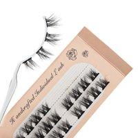 False Eyelashes Mink Super Individual Eyelash Extension Natural 3D Dramatic Volume Faux Lashes Makeup Cilia Cilias