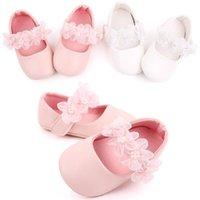 First Walkers 2021 Fashion Baby Walker Shoes Kids Girls Fiesta Bailarina Flor infantil Casual